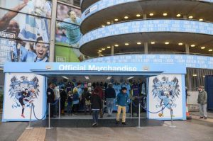 Rapid Retail - Manchester City FC - Portable Shop