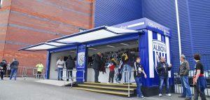 Modular Retail Unit West Bromwich Albion FC Rapid Retail