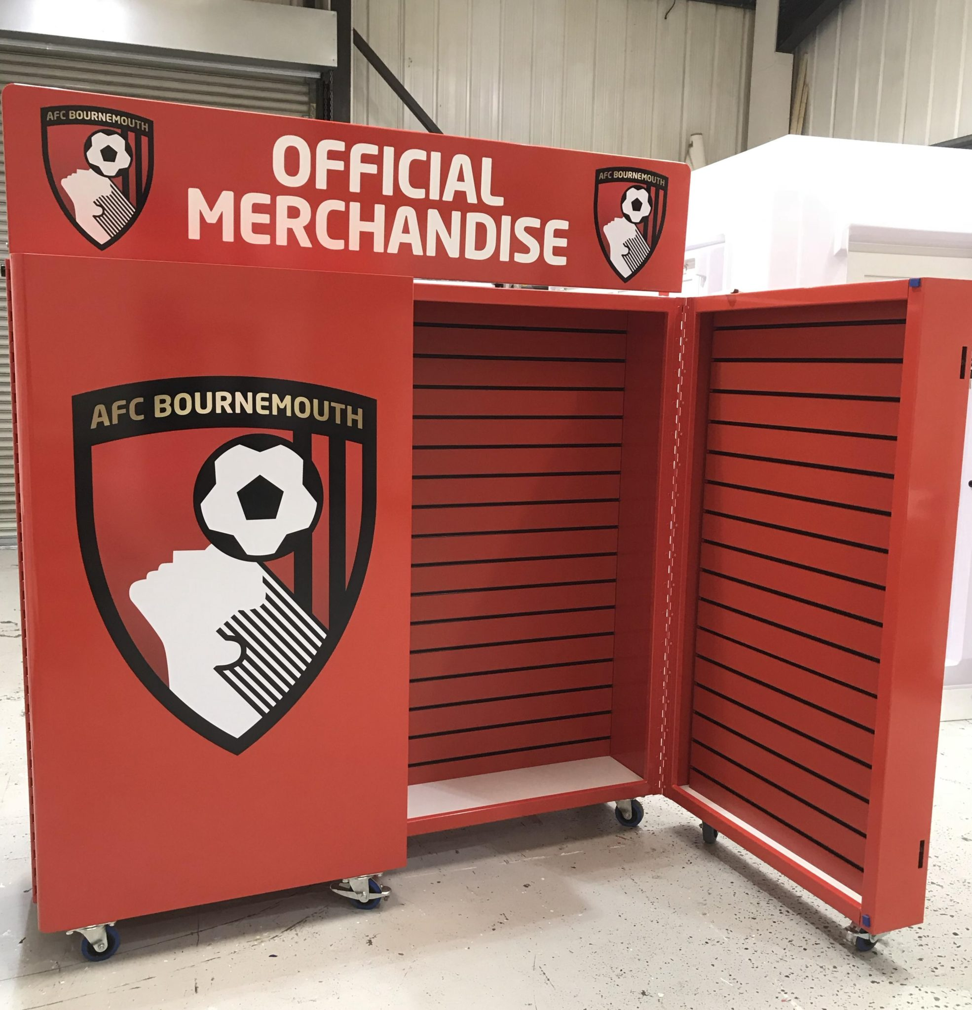 Merchandise display unit AFC Bournemouth
