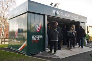 Rapid Retail - Leicester Tigers - Portable Shop
