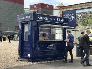 Racecard Kiosk Newbury Racecourse - Rapid Retail