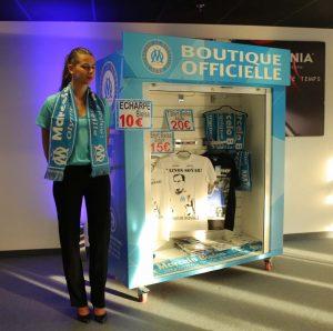 Rapid Retail - Olympic Marseille - Portable Merchandise Unit
