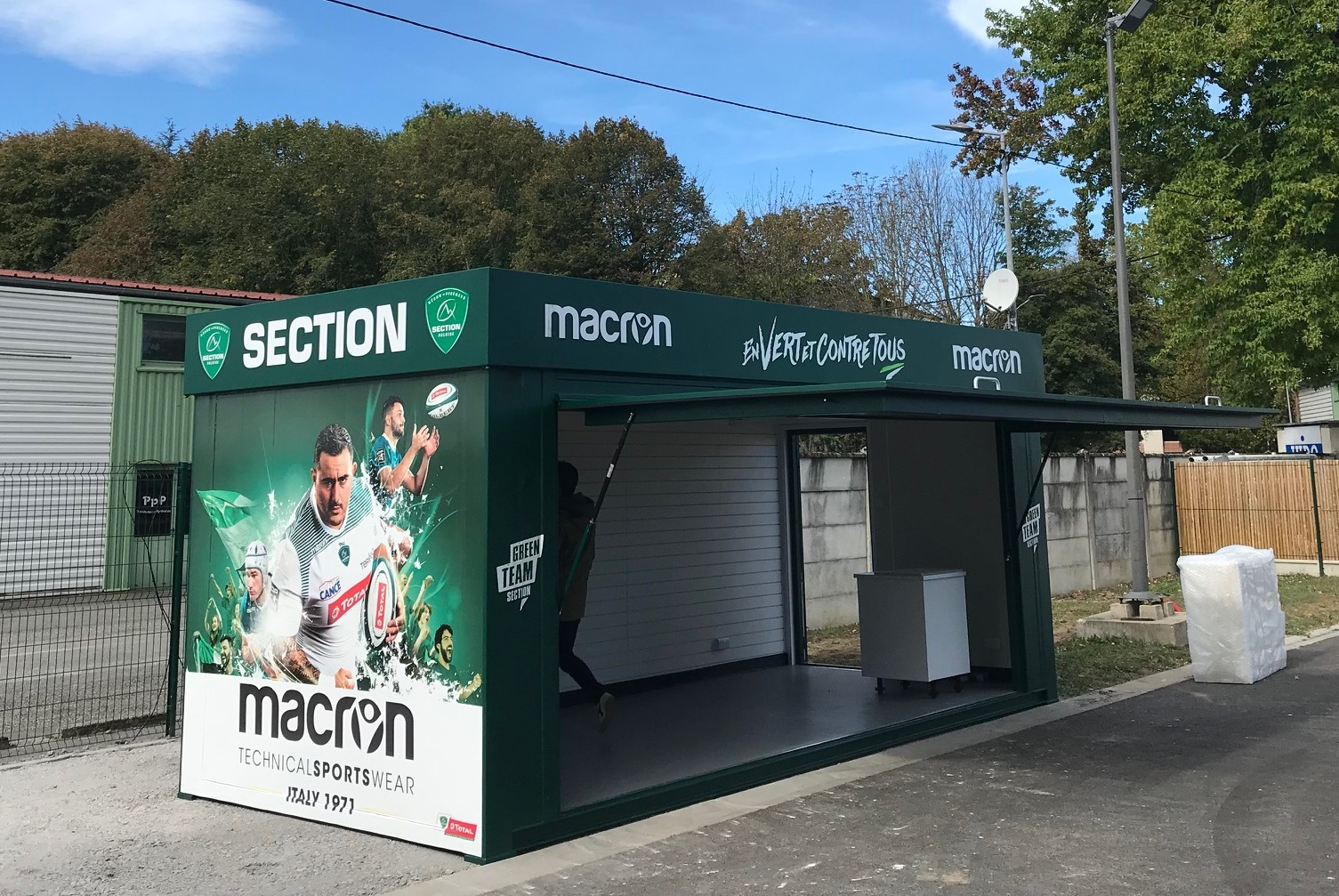 Section Paloise rugby club portable shop