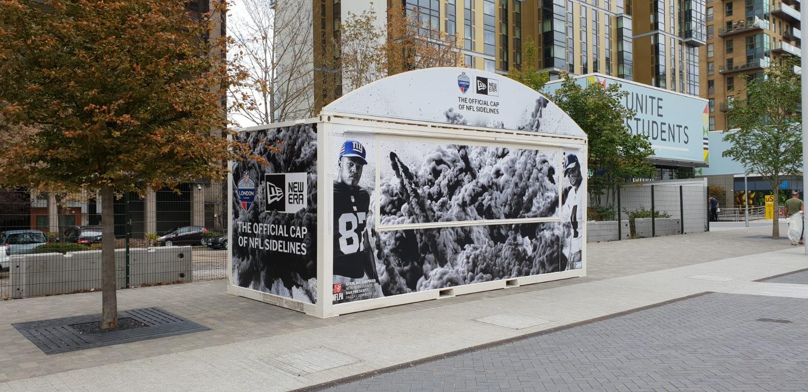 NFL merchandising unit