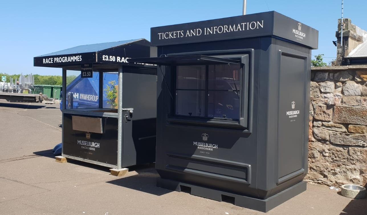 Ticket kiosk Musselburgh Racecourse